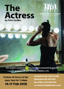Horfield Theatre Company - The Actress -HTC-